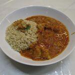 カレー パンドラ - チキンカレー(玄米小、500円)