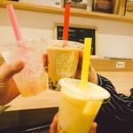 ティーケーピー カフェテリア - 【タピオカ】ストローも色とりどり!