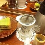 カフェ ソラーレ Tsumugi - セットドリンク【¥380(税抜)】 ☆日本茶オススメです☆