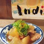 インディ庵 - 料理写真:スジコン小鉢。