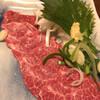 味処なか - 料理写真:馬刺し 1,350円