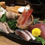 五郎 - 料理写真:五種盛り(2人前1,960円)