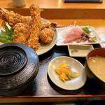 魚乙 - 料理写真:ミックスフライ定食