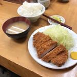 123994047 - ロースカツ定食