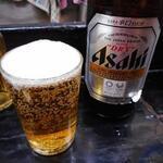 ひょうたん - 瓶ビール(中瓶)530円