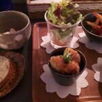 ニノ カフェ - 料理写真:野菜ランチ