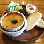 珈琲道場 侍 - ランチ(ポテトチーズ焼き・パンにバター無し)