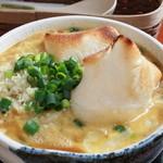 ぴよるね~北のキッチン&雑貨カフェ - 料理写真:京風あんかけ けいらんうどん(すりおろし生姜がたっぷり)