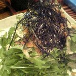 1240754 - 水菜と九条葱のサラダ