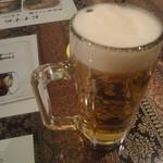 12400244 - 「生ビール」(450円)