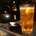 かまだ茶寮 月虹 - 薫る 雁がね焙じ茶ハイボール