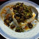 中華料理鉄人の店 天天 - ピータン豆腐