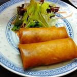 中華料理鉄人の店 天天 - 春巻き