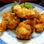 中華料理鉄人の店 天天 - 鶏のから揚げ