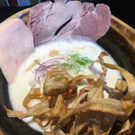 鶏soba 座銀  - 鶏soba (*´-`)