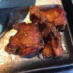 鶏soba 座銀  - 鶏から ( ´θ`)