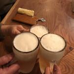 robatahyoutan - ビールで乾杯♪
