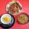 来来憲 - 料理写真:大トンテキ定食 ご飯は大盛で