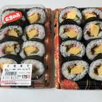 明治屋ジャンボ市 - 太巻寿司 1パック=175円 新春開店セールの特売品