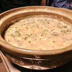 博多中洲 ぢどり屋 - 『嬉野温泉湯豆腐』しゃんの〆鶏飯雑炊♡
