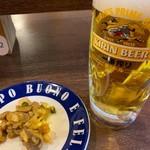 立呑 稼鶏酒場 - キリン一番搾り390円