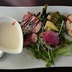 レストランアマル - 前菜とスープ