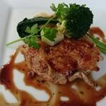 レストランアマル - 地どりの網焼き 冬野菜ぞえ トリュフソース