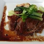 レストランアマル - イベリコ豚のマデラ酒ソース