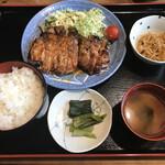 暖 - 特製生姜焼き定食 1500円