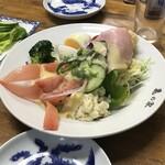 亀の家食堂 - サラダ