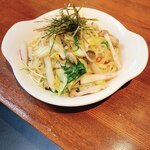 キャフェ・クリムト - 季節のパスタ『アサリと旬野菜の和風ペペロンチーノ』