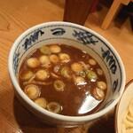 江戸前つけ麺 サスケ - 濃厚つけ麺(お出汁)