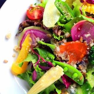 彩り豊かな有機野菜