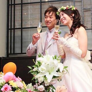 【結婚式二次会に最適】音響設備を完備★WDケーキも人気です