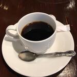 オステリア ハミングバード - セットのコーヒーです