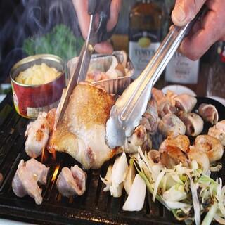 【鶏料理】野菜と相性抜群!ヘルシーな「鶏焼」