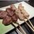 鳥あさ - 料理写真:砂肝・せせり・ハツ