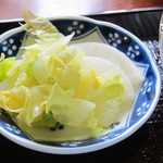 白菊 - お付け物