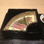 124052943 - 山形牛サーロインステーキ。                       美味し。