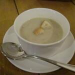 124053647 - マッシュルームスープ