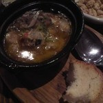 12406139 - 牡蠣と葱のアヒージョ