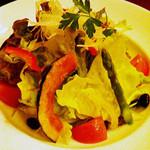 パスタCAFE かなりや - 野菜のサラダ