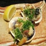 自然海料理 小太郎 - 大アサリ醤油焼
