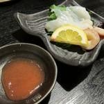 自然海料理 小太郎 - 生タコ刺し
