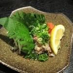 自然海料理 小太郎 - 紅ずわいガニポン酢