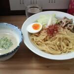 うぜん - 鶏塩ポタージュつけ麺(並盛)
