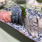 124067777 - 2020年1月。超美味しかったシメサバ850円。