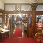 日光金谷ホテル - メインダイニング入口