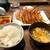 ぎょうざ処 高辻 亮昌 - 料理写真:焼き餃子定食(餃子2人前)