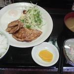 めし処 ゆみ - 料理写真:生姜焼き定食¥600!